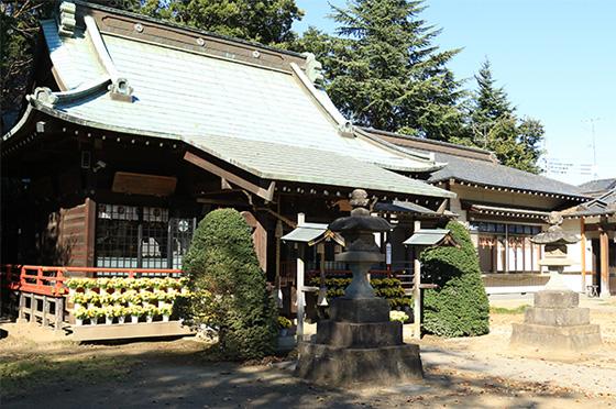 長宮氷川神社